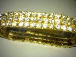 Golden shining bracelet